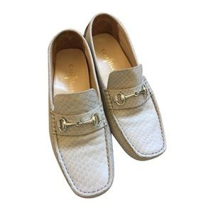 Cole Haan Snakeskin Loafers